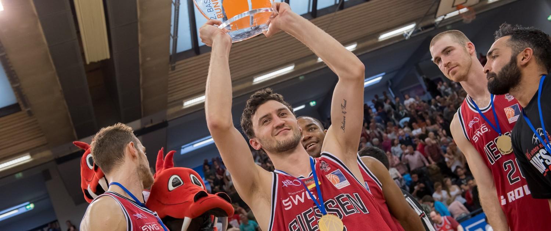 Pro A, Playoffs, Finale, Spiel 2, Giessen 46ers - s. Oliver Baskets Würzburg, Hessen, DEU, 2015