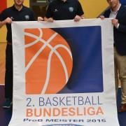 Meisterschaftsbanner ProB Oldenburg
