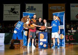beim Spiel Oettinger Rockets vs. Niners Chemnitz, Basketballl, 2. Basketball Bundesliga Auftakt, 22.09.2016 Foto: Christoph Worsch/Eibner