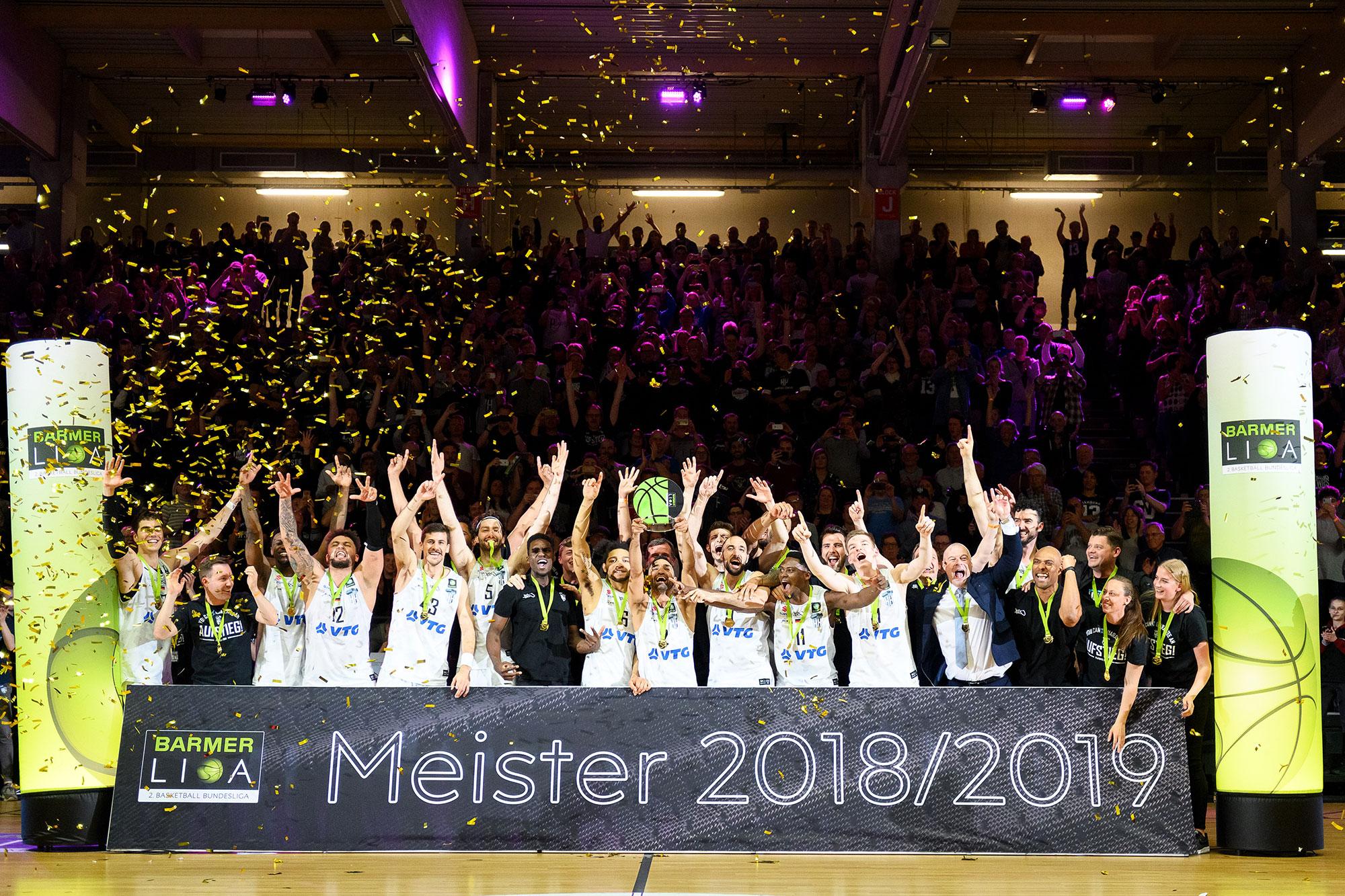 ProA Meister 18/19 – Hamburg Towers! – BARMER 2. Basketball Bundesliga